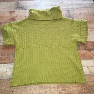 New Directions Cowl Neck Chunky Sweater